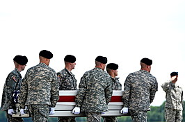Bodies Of Two Army Soldiers Killed In Afghanistan By Suicide Bomber Return To Dover AFB