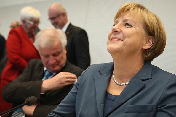 Christian Democrats Faction Meet At Bundestag Following Elections