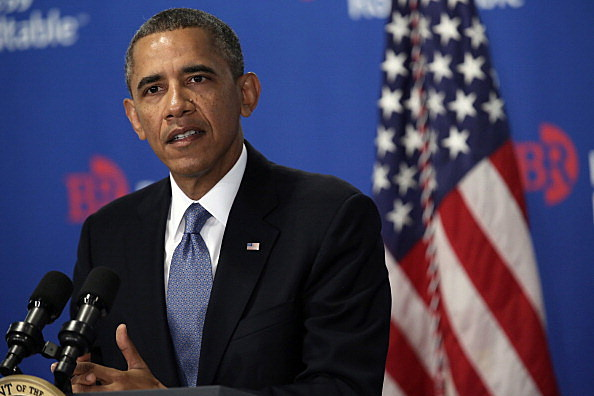 Obama Addresses Business Roundtable In Washington