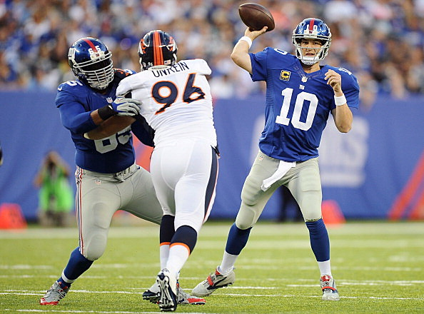 Denver Broncos v New York Giants