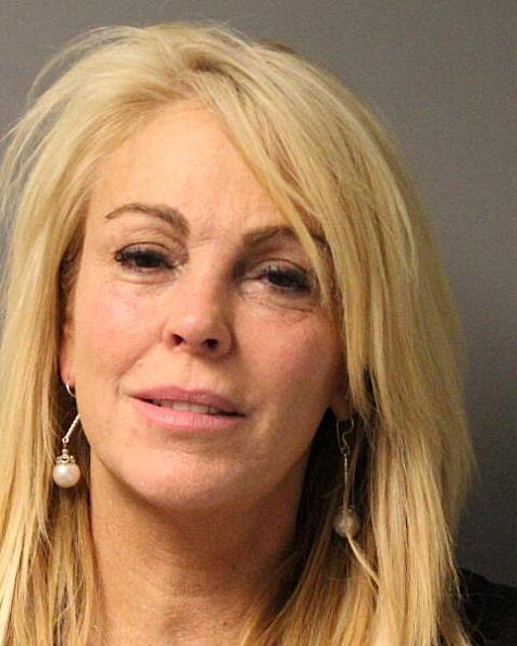 Dina Lohan Booking Photo