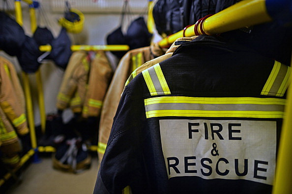 Fire Brigade Carry Out Operations Ahead Of Bonfire Night