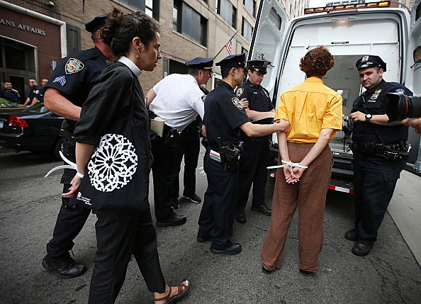 Immigrant Rights Activists Protest Deportation Policies In NYC