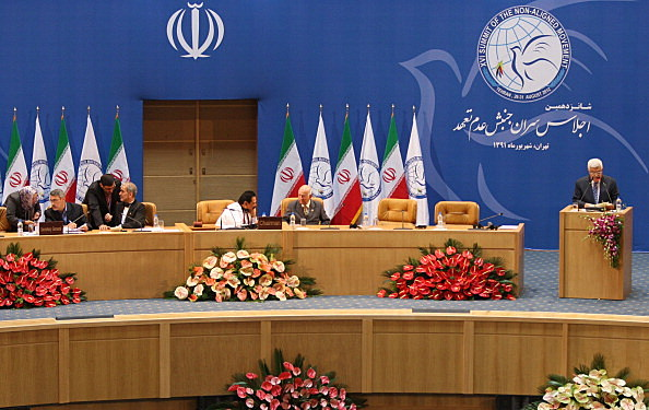 Palestinian President Mahmoud Abbas Attends The Summit of the Non-Aligned Movement