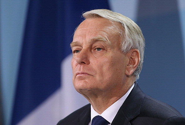 French PM Ayrault Meets Merkel In Berlin