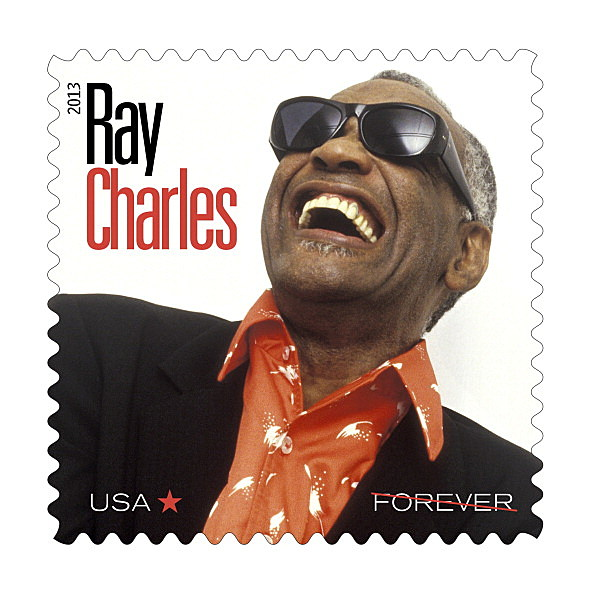 U.S. Postal Service Unveils Ray Charles Stamp