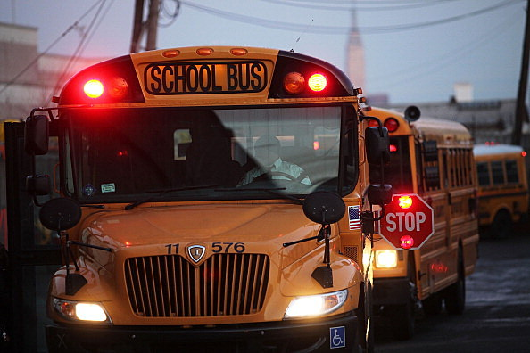 School Bus Drivers Return To Work In New York City After Strike