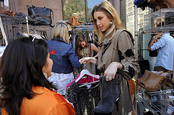 eBay Fashion LookBook New York City Photoshoot with Lucky Magazine