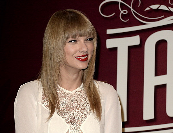 Taylor Swift Press Conference To Announce Breaking The Record Of Solo Artist Sold-Out Shows At The Staples Center