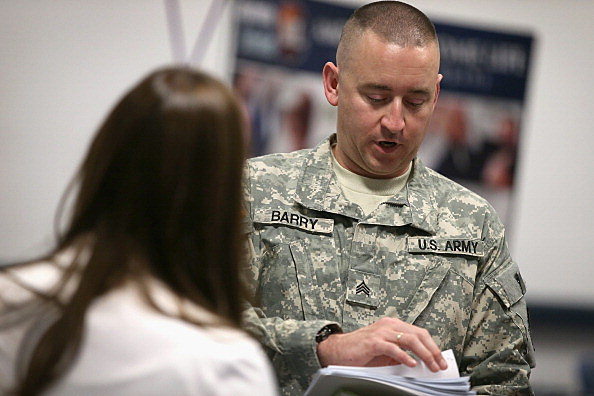 Job Fair In Chicago Area Caters To Military Veterans