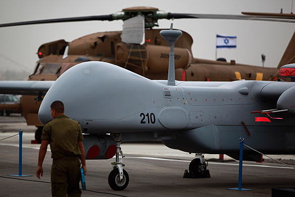 Israeli Airforce Receives Latest Generation Of UAV's