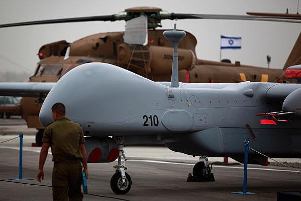 Israeli Airforce Receives Latest Generation Of UAV's