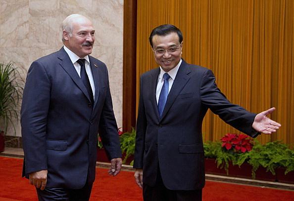 Chinese Premier Li Keqiang Meets Belarusian President Alexander Lukashenko