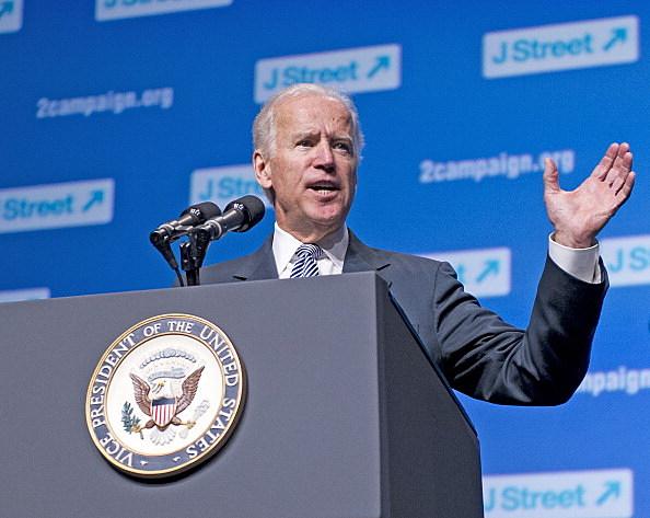 Biden Speaks at J Street Conference