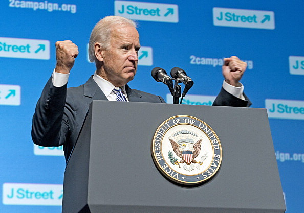Biden Speaks at J Street Conference