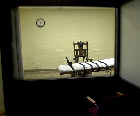Death Chamber at Southern Ohio Correctional Facility