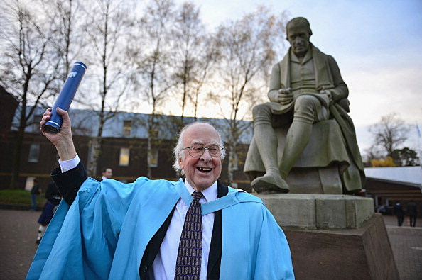 Professor Peter Higgs Awarded A Doctorate Of Science At The Heriot-Watt University