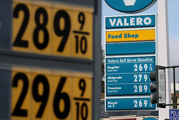 U.S. Gas Prices Rise 25 Cents In Three Weeks