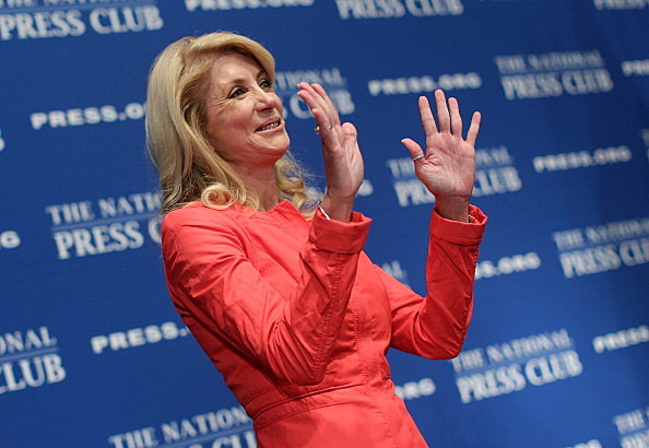 TX State Senator Wendy Davis About Texas Abortion Bill In Washington
