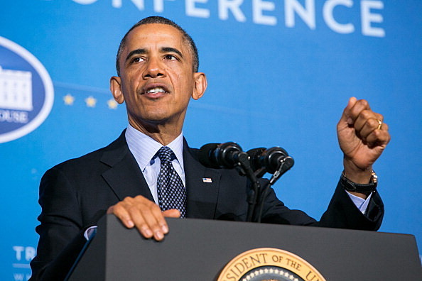 Obama Speaks At Tribal Nations Conference