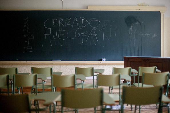 Students Strike in Spain