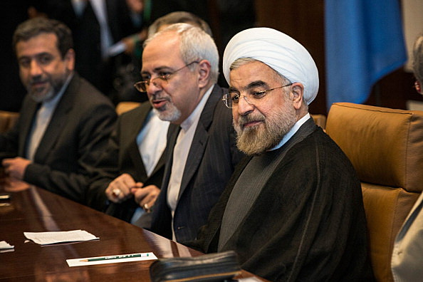 UN Secretary General Ban Ki-Moon Meets With Iranian President Hassan Rouhani