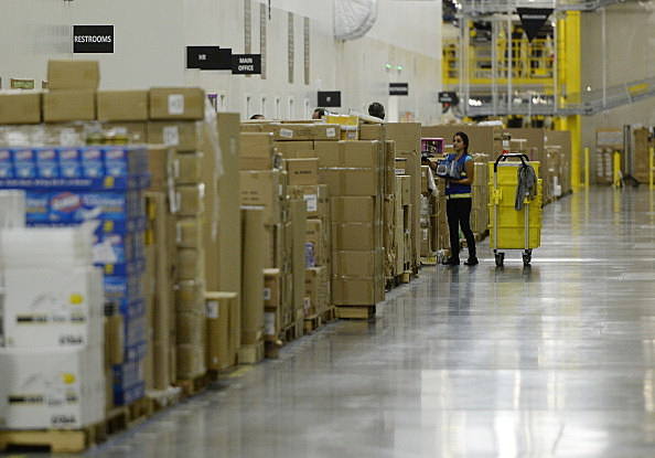 Amazon Fulfillment Center Opens In San Bernardino