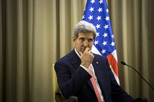 US Secretary of State John Kerry Visits Middle East