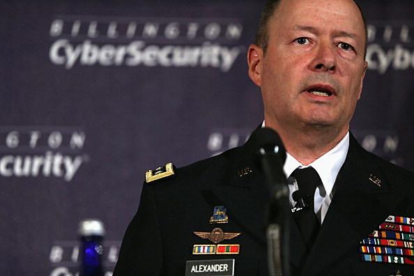 NSA Director Gen. Keith Alexander Speaks At Cybersecurity Summit