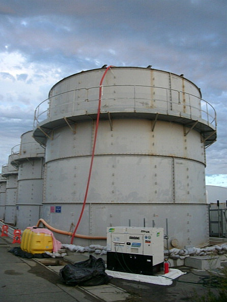 Radioactive Water Leaks From Another Tank at Fukushima Plant