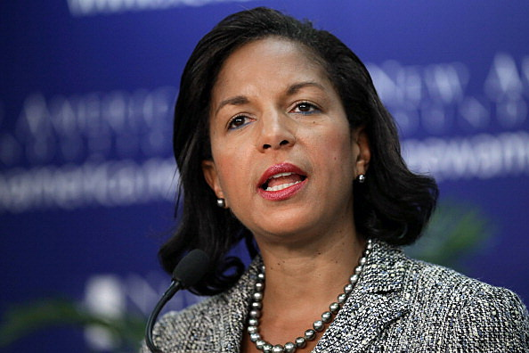 Susan Rice Discusses Situation In Syria At New America Foundation