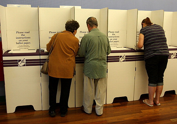 Australians Head To The Polls To Vote In Federal Election