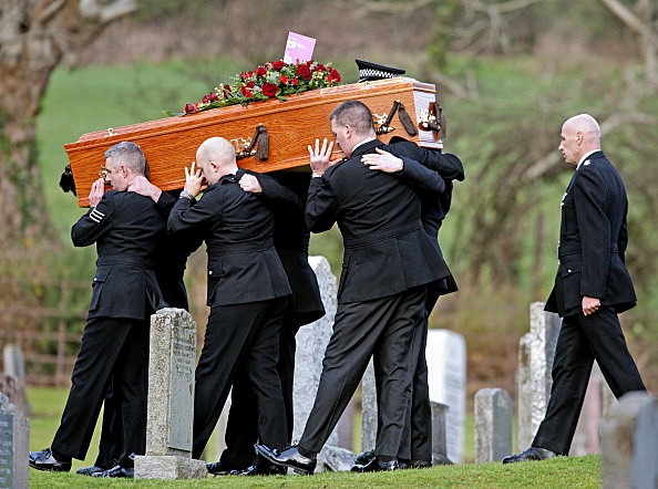 Funeral Held For Helicopter Crash Victim PC Tony Collins