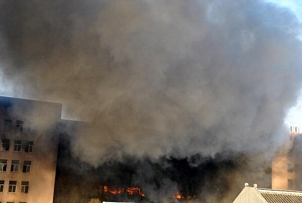 Shoe Factory Ablaze In Wenling