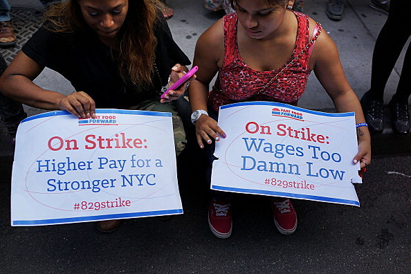 Fast Food Workers Organize Nationwide Walkout