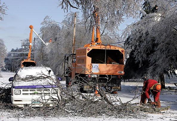 State Emergency Declared As Winter Storms Batter Kansas