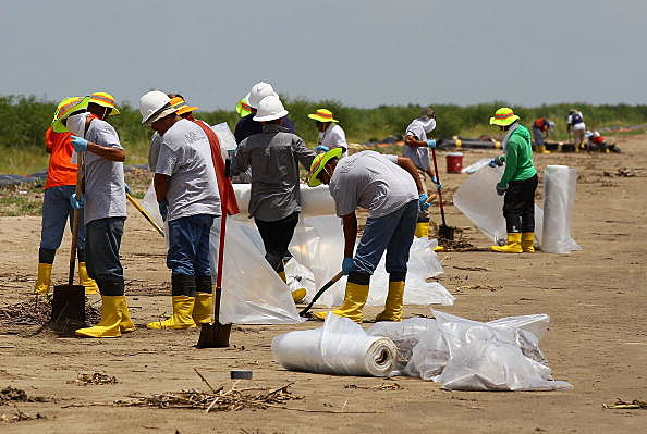 As Drilling At Relief Well Continues, Gulf Coast Toils Over Spill Recovery