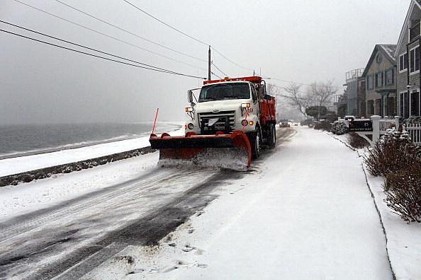 Blizzard Slams U.S. East Coast