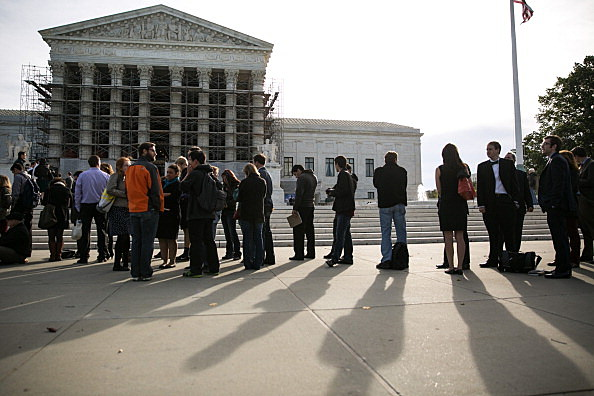Supreme Court Hears Arguments On Case Involving Donor Limits To Political Campaigns