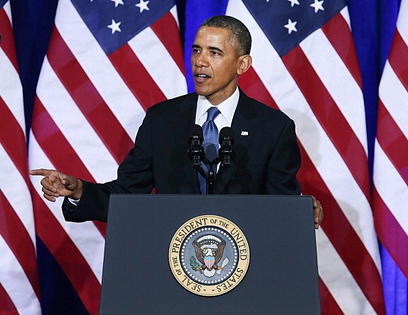 President Obama Delivers Speech On U.S. Signals Intelligence Programs
