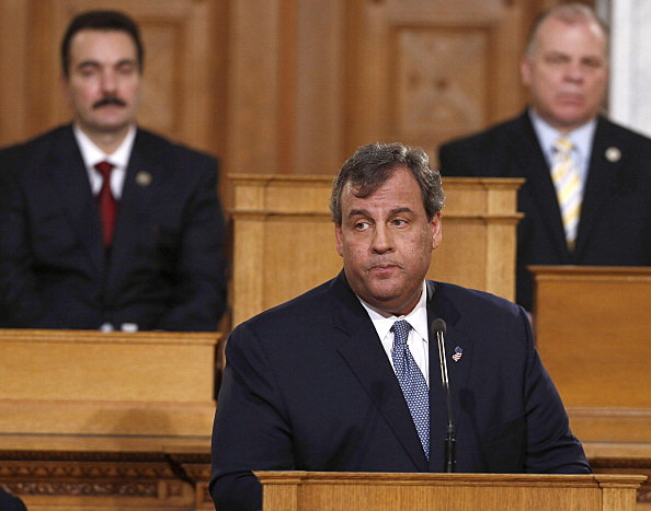 Chris Christie Delivers NJ State Of The State Address