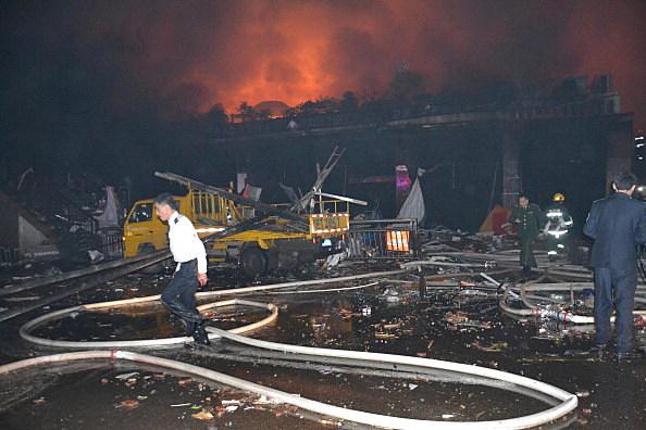 Four Dead In Luzhou Shopping Mall Fire