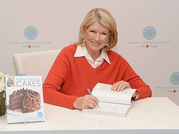 "Martha Stewart Holiday Book Signing For ""Martha Stewart's Cakes"""
