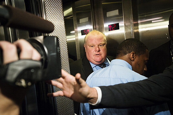 Toronto City Council Meets To Limit Powers Of Embattled Mayor Rob Ford