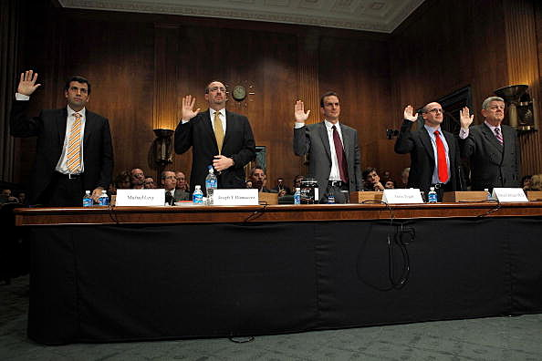 Senate Judiciary Committee Holds Hearing On Steriods Usage
