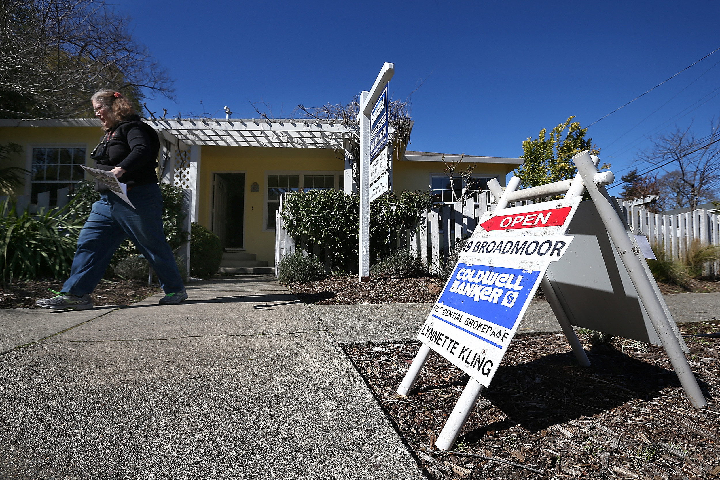 Sales Of Previously Owned Homes Rise In January