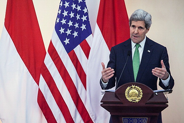 Secretary Of State John Kerry Visits Indonesia