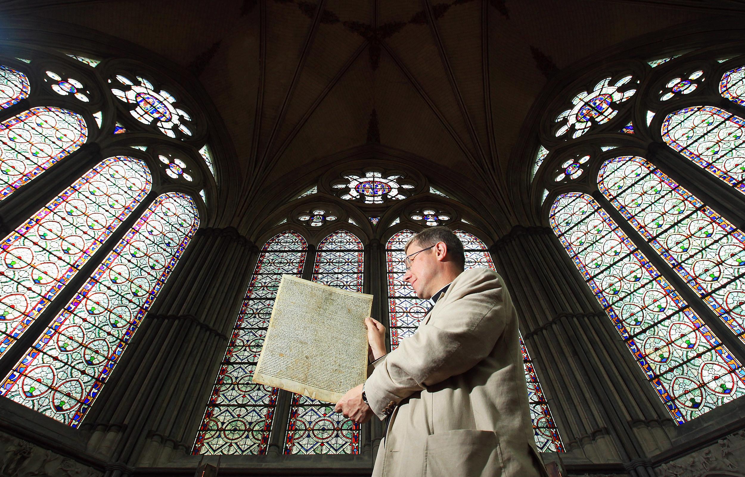 Salisbury Cathedral's Magna Carta Granted World Heritage Status