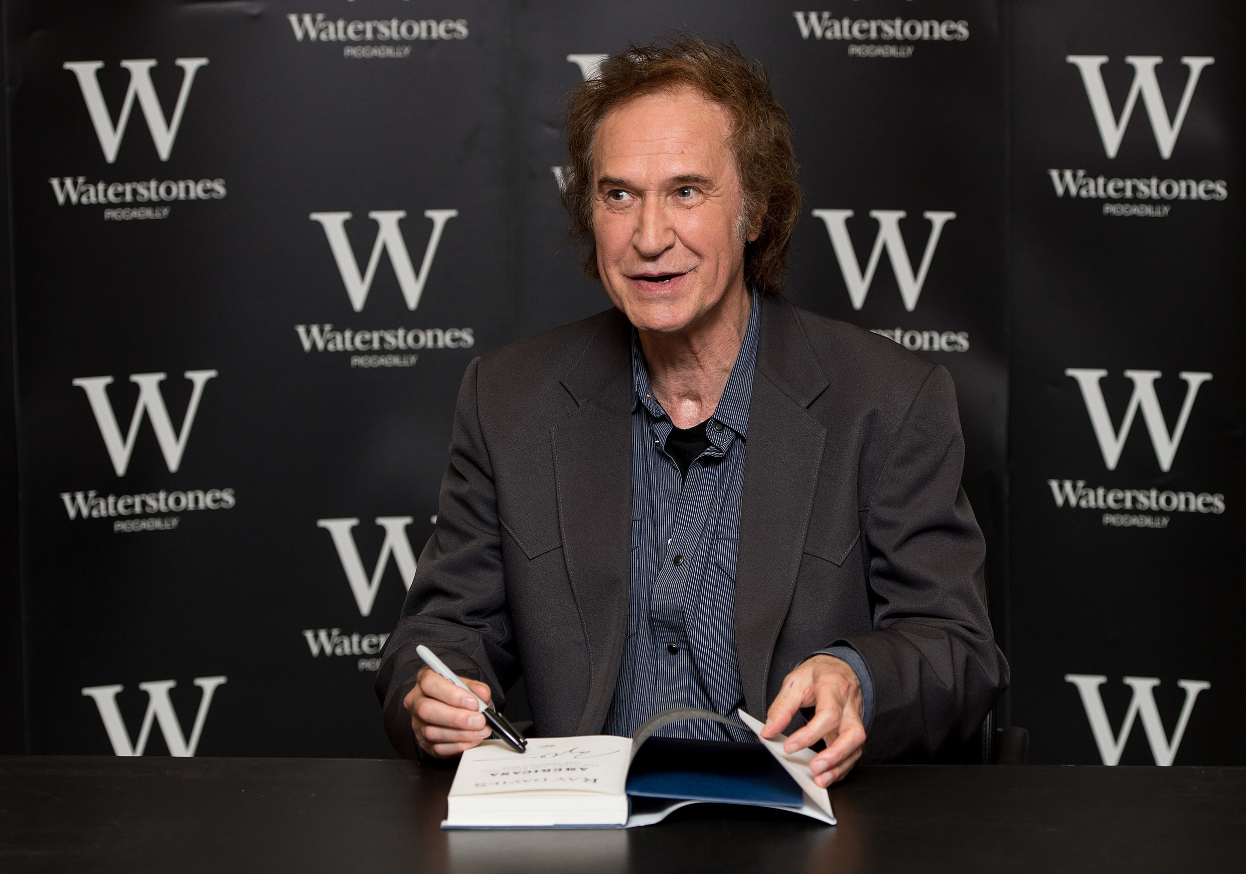 Ray Davies - Book Signing