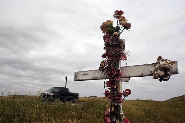 Roadside Memorials Dot American Landscape